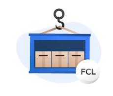حمل و نقل FCL و LCL